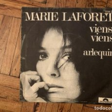 Dischi in vinile: MARIE LAFORET* ?– VIENS, VIENS SELLO: POLYDOR ?– 2056 213 FORMATO: VINYL, 7 , 45 RPM, SINGLE. Lote 186219485