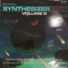 Discos de vinilo: STARINK* ‎– SYNTHESIZER GREATEST VOLUME 6. DISCO VINILO. ENTREGA 24H. Lote 186219555