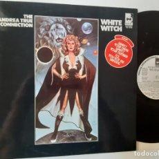 Discos de vinilo: THE ANDREA TRUE CONNECTION- WHITE WITCH - SPAIN PROMO LP 1977 - VINILO COMO NUEVO.. Lote 186221105