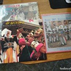 Discos de vinilo: LOTE JA BAIXEN MUSICA DE MOROS Y CRISTIANOS VOL. 1,2,5 ALCOY. Lote 186221975