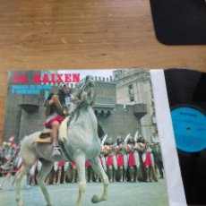 Discos de vinilo: JA BAIXEN MUSICA DE MOROS Y CRISTIANOS VOL. 1, BANDA AGRUPACION MUSICAL DE ALCOY. Lote 186222113