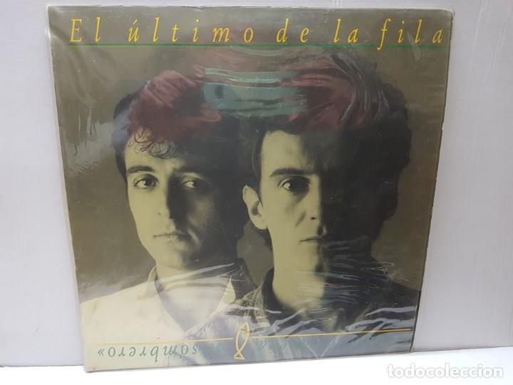 LP-EL ÚLTIMO DE LA FILA-COMO LA CABEZA AL SOMBRERO EN FUNDA ORIGINAL 1988 (Música - Discos - LP Vinilo - Grupos Españoles de los 70 y 80)