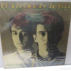 Discos de vinilo: LP-EL ÚLTIMO DE LA FILA-COMO LA CABEZA AL SOMBRERO EN FUNDA ORIGINAL 1988. Lote 186222932