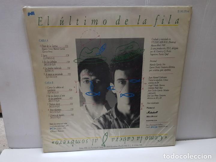 Discos de vinilo: LP-EL ÚLTIMO DE LA FILA-COMO LA CABEZA AL SOMBRERO en funda original 1988 - Foto 2 - 186222932