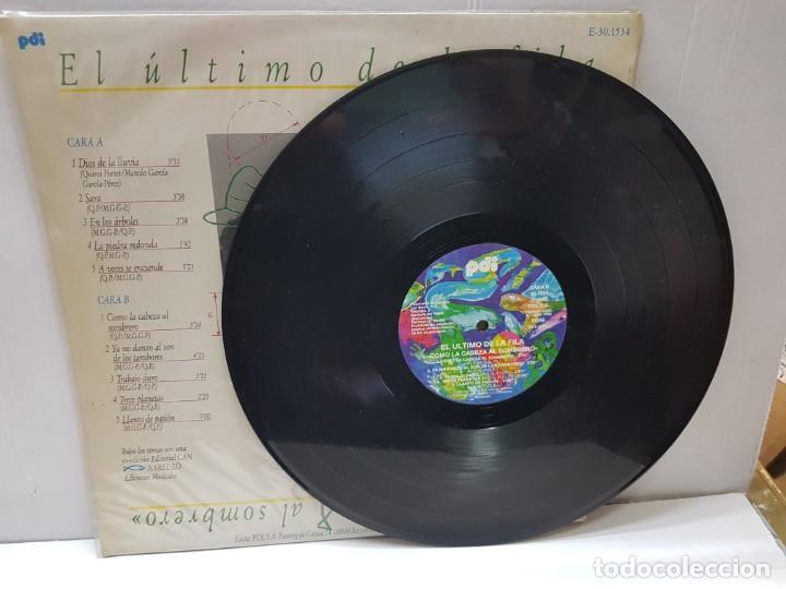 Discos de vinilo: LP-EL ÚLTIMO DE LA FILA-COMO LA CABEZA AL SOMBRERO en funda original 1988 - Foto 3 - 186222932