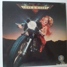 Discos de vinilo: LOVE & KISSES- YOU MUST BE LOVE- SPAIN PROMO LP 1979- VINILO COMO NUEVO.. Lote 186222962