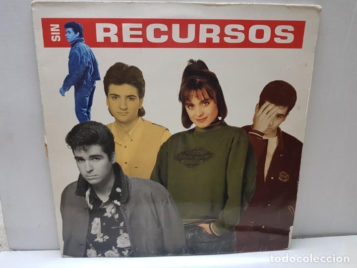 LP-SIN RECURSOS- EN FUNDA ORIGINAL 1989 (Música - Discos - LP Vinilo - Grupos Españoles de los 70 y 80)