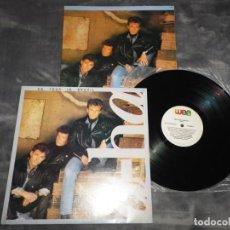 Discos de vinilo: AHA ON TOUR IN BRAZIL LP VINILO AÑO 1989 BRASIL A-HA EL ENCARTE ES UN POSTER MORTEN HARKET 10 TEMAS. Lote 186224147