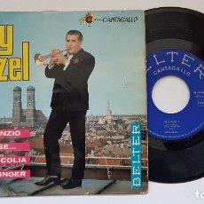 Discos de vinilo: ROY ETZEL. EP. IL SILENZIO + 3. AÑO 1.965. EDITADO POR BELTER. Lote 186224942