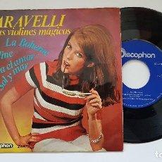 Discos de vinilo: CARAVELLI Y SUS VIOLINES MÁGICOS. EP. LA BOHEME + 3 - AÑO 1.966. EDITADO POR DISCOPHON. Lote 186225432