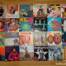 Discos de vinilo: LOTE CON 24 SINGLES DE FINALES DE LOS '60 HASTA 1980. Lote 186225710