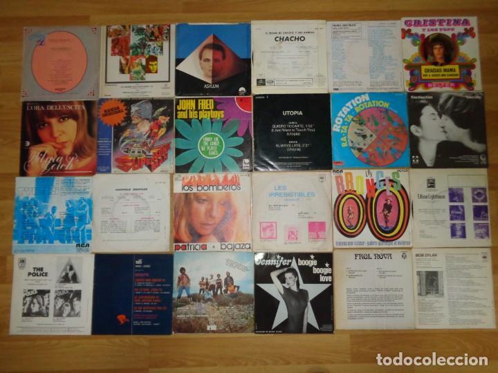 Discos de vinilo: LOTE CON 24 SINGLES DE FINALES DE LOS 60 HASTA 1980 - Foto 2 - 186225710