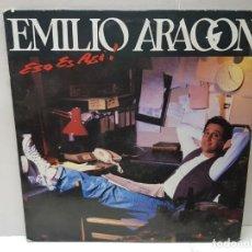 Discos de vinilo: LP-EMILIO ARAGON-ESO ES ASI! EN FUNDA ORIGINAL 1992. Lote 186226170