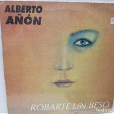 Discos de vinilo: LP-ALBERTO AÑON-ROBARTE UN BESO EN FUNDA ORIGINAL 1994. Lote 186226367
