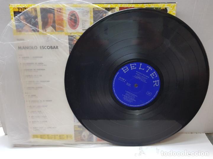Discos de vinilo: LP-MANOLO ESCOBAR- en funda original 1966 - Foto 3 - 186226811