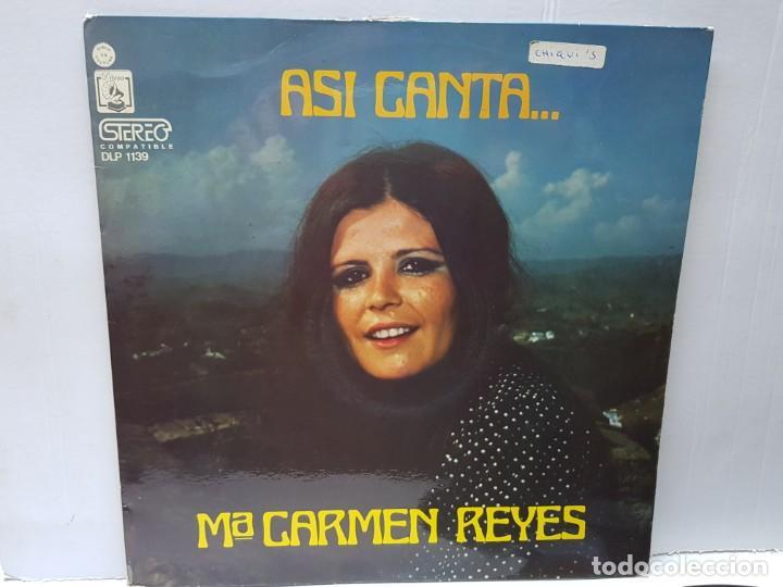 LP-MARI CARMEN REYES-ASI CANTA EN FUNDA ORIGINAL 1973 (Música - Discos - LP Vinilo - Solistas Españoles de los 70 a la actualidad)