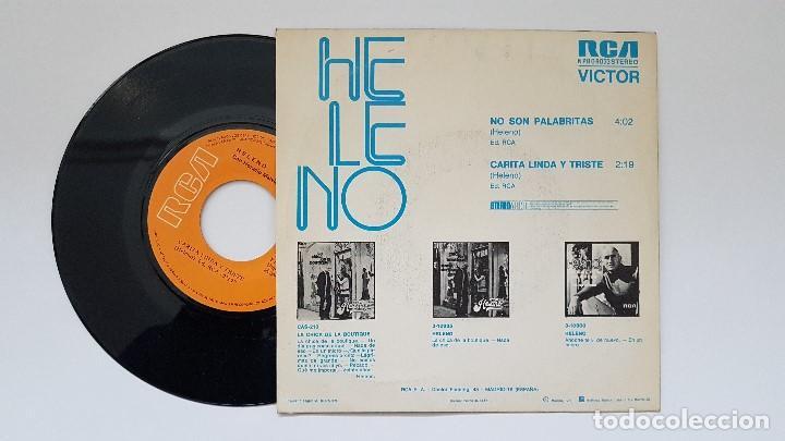 Discos de vinilo: Heleno - No son palabritas. año 1.973. editado por RCA. Disco promocional. - Foto 2 - 186227428