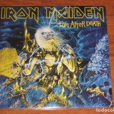 Discos de vinilo: (SIN ABRIR) IRON MAIDEN - LIVE AFTER DEATH (2LP VINILO 180 GRAMOS) ___ (82564624865) 2014. Lote 186227532