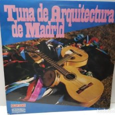 Discos de vinilo: LP-TUNA DE ARQUITECTURA DE MADRID - EN FUNDA ORIGINAL 1970. Lote 186228153