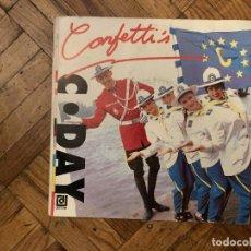 Discos de vinilo: CONFETTI'S – C●DAY SELLO: DISQUES DÉESSE – 856-7 FORMATO: VINYL, 7 , 45 RPM, SINGLE PAÍS: FRANCE. Lote 186229813