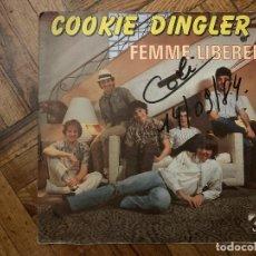 Discos de vinilo: COOKIE DINGLER ?– FEMME LIBÉRÉE SELLO: CHARLES TALAR RECORDS ?– 2000997 FORMATO: VINYL, 7 . Lote 186232285