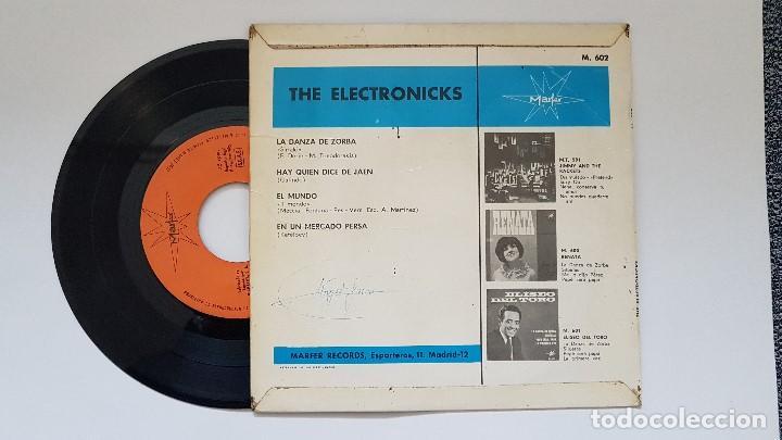 Discos de vinilo: The Electronicks. Ep. La danza de zorba + 3. año. 1.965. editado por Marfer. Disco raro. - Foto 2 - 186239982