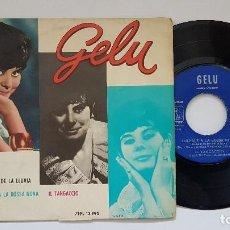 Discos de vinilo: GELU - EP. RENATO + 3 CANCIONES - AÑO 1.963. EDITADO POR LA VOZ DE SU AMO.. Lote 186240672