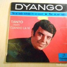Discos de vinilo: DYANGO, EP, TANTO (TANT) + 3, AÑO 1965. Lote 186241785