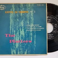 Discos de vinilo: THE PLATTERS - EP. TIEMPO TORMENTOSO + 3 CANCIONES. AÑO 1.962. EDITADO POR MERCURY. Lote 186242813
