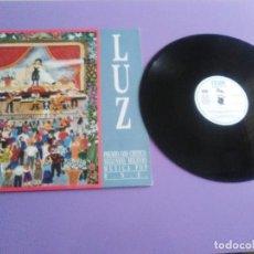 Discos de vinilo: LUZ CASAL. EDICION ESPECIAL RNE.PREMIO MUSICA POP. DIFICILISIMO ENCONTRAR.1990. MAXI PROMOCIONAL. Lote 186242982