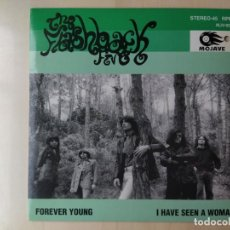 Discos de vinilo: THE FLASHBACK FIVE* ‎– FOREVER YOUNG / I HAVE SEEN A WOMAN/SINGLE/1994/MOJAVE/SPAIN/MINT/RARE. Lote 186245388