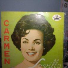 Discos de vinilo: LP CARMEN SEVILLA ( RARA EDICION DE DISCOS ODEON EN VENEZUELA ). Lote 186245638