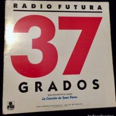Discos de vinilo: RADIO FUTURA. 37 GRADOS/ A CARA O CRUZ. MAXI SINGLE.. Lote 186246063