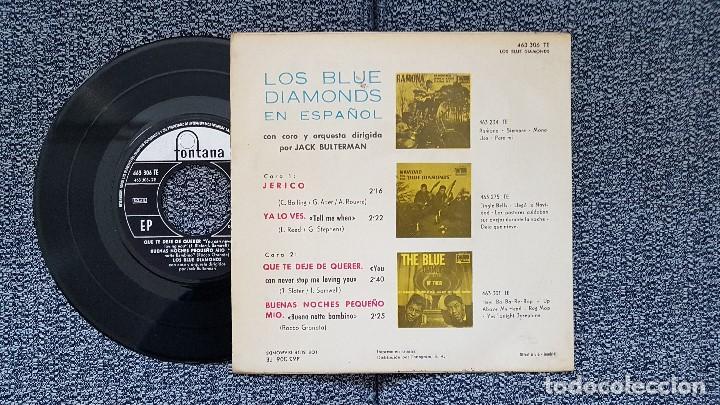 Discos de vinilo: The Blue Diamonds - Ep. Que te deje de querer + 3 canciones. año. 1.964. editado por Fontana - Foto 2 - 186250416