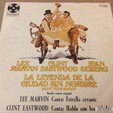 Discos de vinilo: LA LEYENDA DE LA CIUDAD SIN NOMBRE. BSO LEE MARVIN / CLINT EASTWOOD 1970.. Lote 186255090