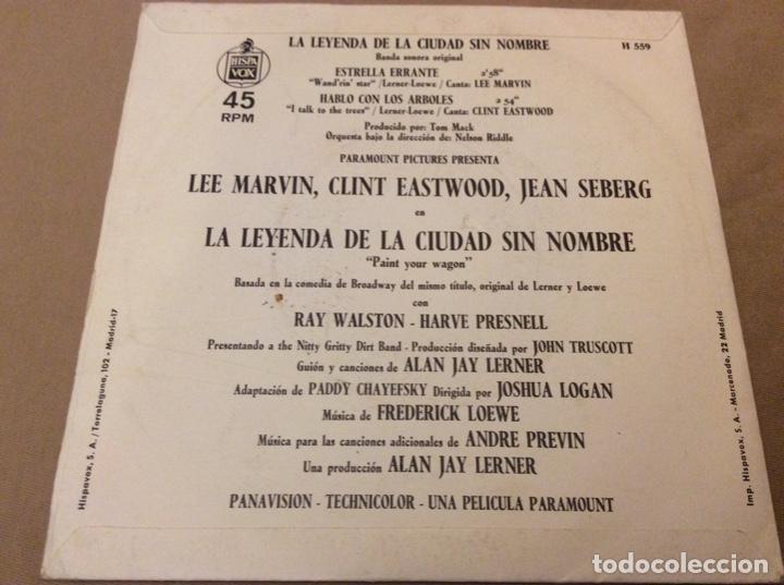 Discos de vinilo: LA LEYENDA DE LA CIUDAD SIN NOMBRE. BSO LEE MARVIN / CLINT EASTWOOD 1970. - Foto 2 - 186255090