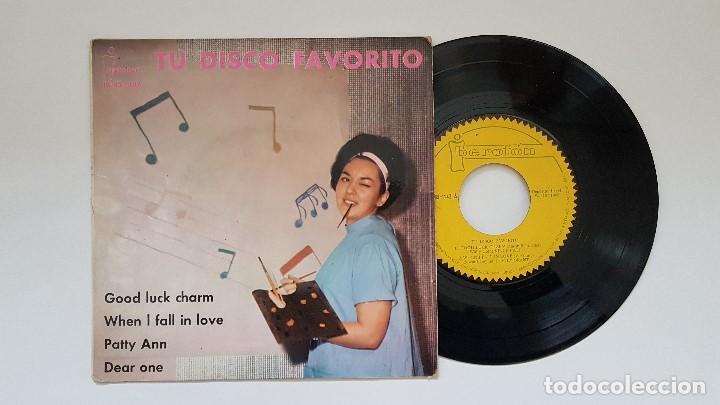 TU DISCO FAVORITO. EP- VINCE PATT,JOEY GRANT,ANNIE BASCI. AÑO 1.962. DISCO RARÍSIMO. COLECCIÓN. (Música - Discos de Vinilo - EPs - Pop - Rock Extranjero de los 50 y 60)