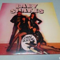 Discos de vinilo: BABY SHAKES–CAUSE A SCENE . LP VINILO PRECINTADO. PUNK POP / POWER POP. Lote 186257697