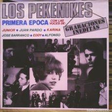 Discos de vinilo: LOS PEKENIKES - PRIMERA ÉPOCA LP EL COCODRILO RECORDS 1984. Lote 186260096