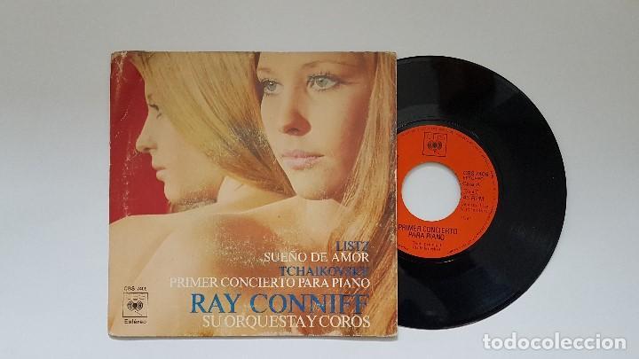 RAY CONNIFF - PRIMER CONCIERTO PARA PIANO. AÑO 1.971- EDITADO POR CBS (Música - Discos - Singles Vinilo - Orquestas)