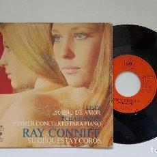 Discos de vinilo: RAY CONNIFF - PRIMER CONCIERTO PARA PIANO. AÑO 1.971- EDITADO POR CBS. Lote 186260253