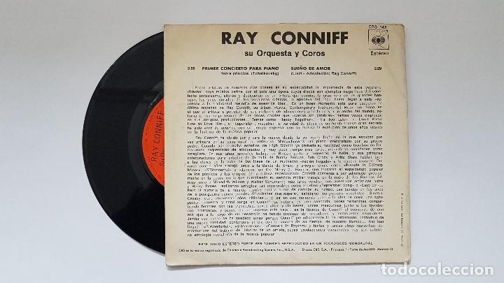 Discos de vinilo: Ray Conniff - Primer concierto para piano. año 1.971- Editado por CBS - Foto 2 - 186260253