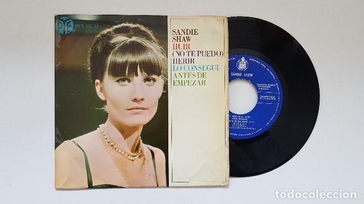 SANDIE SHAW. EP -HUIR + 3. AÑO 1.966. EDITADO POR HISPAVOX (Música - Discos de Vinilo - EPs - Pop - Rock Extranjero de los 50 y 60)