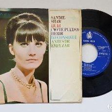 Discos de vinilo: SANDIE SHAW. EP -HUIR + 3. AÑO 1.966. EDITADO POR HISPAVOX. Lote 186260797