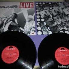 Discos de vinilo: GENIAL DOBLE LP GOLDEN EARRING. LIVE. POLYDOR 2625 034.RADAR LOVE 12 MINUTOS EN VIVO.Y OTRAS.... Lote 186265770