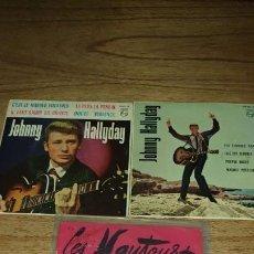 Discos de vinilo: JOHNNY HALLYDAY Y LES VAUTOURS.. Lote 186265980