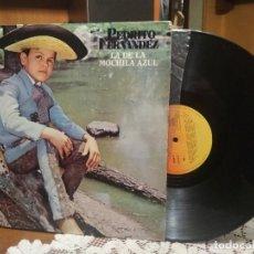Discos de vinilo: PEDRITO FERNANDEZ (LP 1978) LA DE LA MOCHILA AZUL PEPETO. Lote 186270618