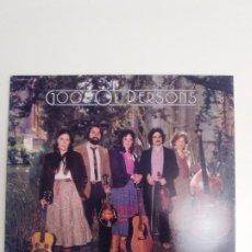 Discos de vinilo: GOOD OL' PERSONS I CAN'T STAND TO RAMBLE ( 1983 KALEIDOSCOPE RECORDS USA ) EXCELENTE ESTADO. Lote 186272583