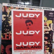 Discos de vinilo: JUDY GARLAND AT THE CARNEGIE, CAPITOL. Lote 186273777