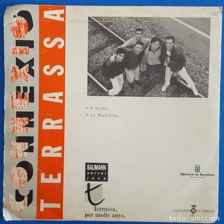 Discos de vinilo: SINGLE / ACCESO PROHIBIDO / A VOLAR - LA HISTORIA / 1991 - Foto 2 - 186274870